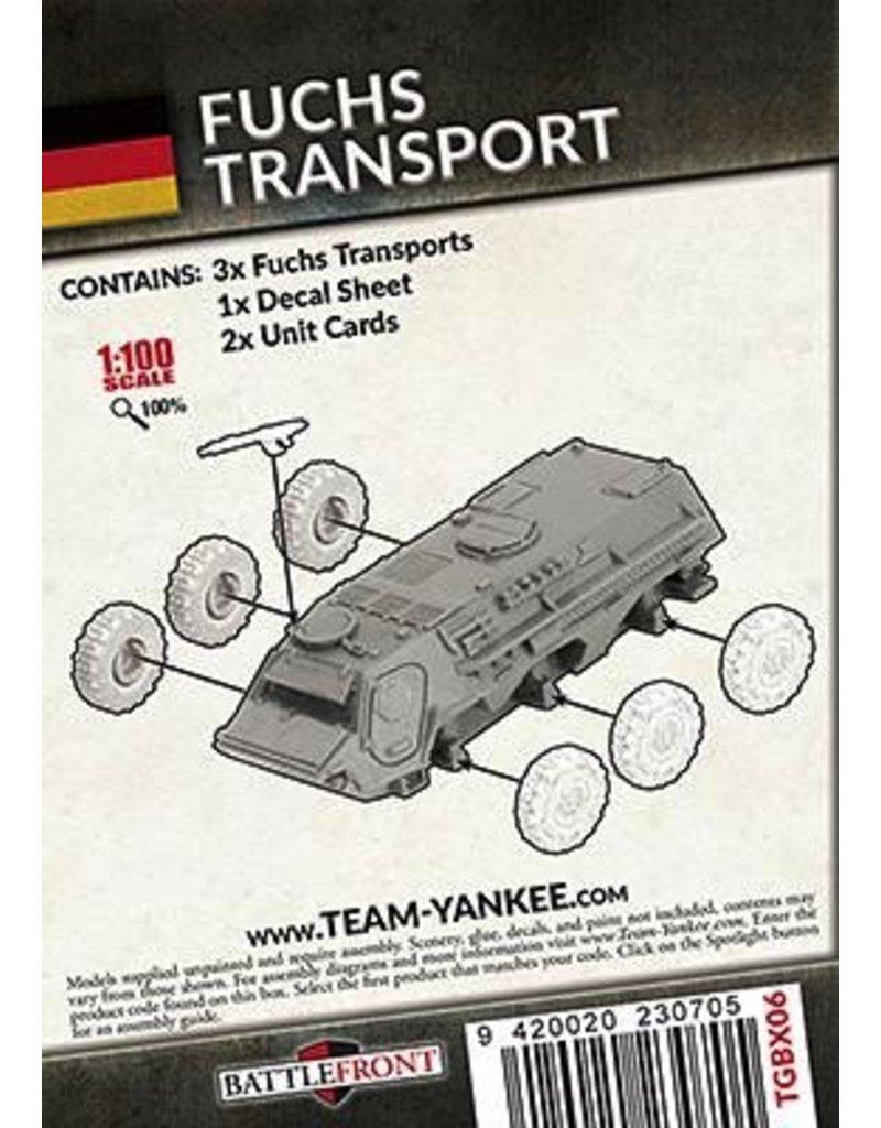Team Yankee TGBX06 Fuchs Transportpanzer