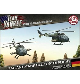 Team Yankee TGBX12 BO-105P Anti-Tank Helicopter Flight