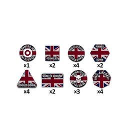 Team Yankee TTK04 Team Yankee British Token Set