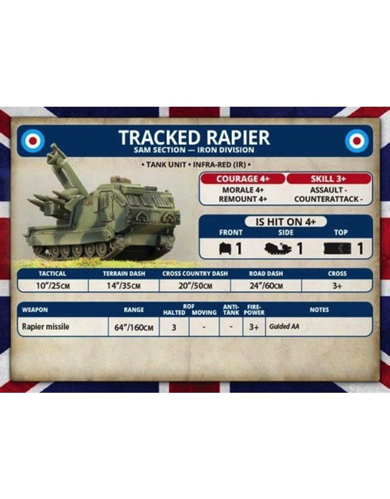 Team Yankee TBBX07 Tracked Rapier SAM Section