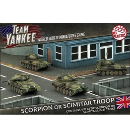 Team Yankee TBBX03 Scorpion or Scimitar Troop (Plastic)