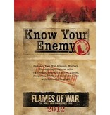 Flames of War FW221 Know Your Enemy - Late War - 2012 Edition