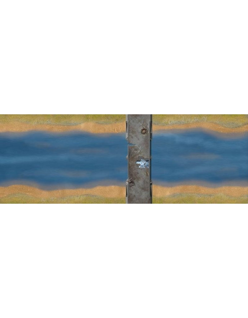 Flames of War FW230A Remagen Bridge Mat Set