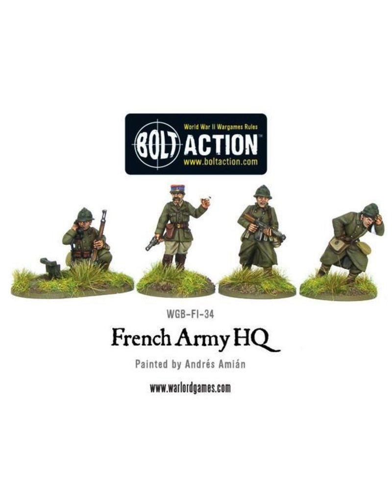 Bolt Action BA French Army: French Army HQ
