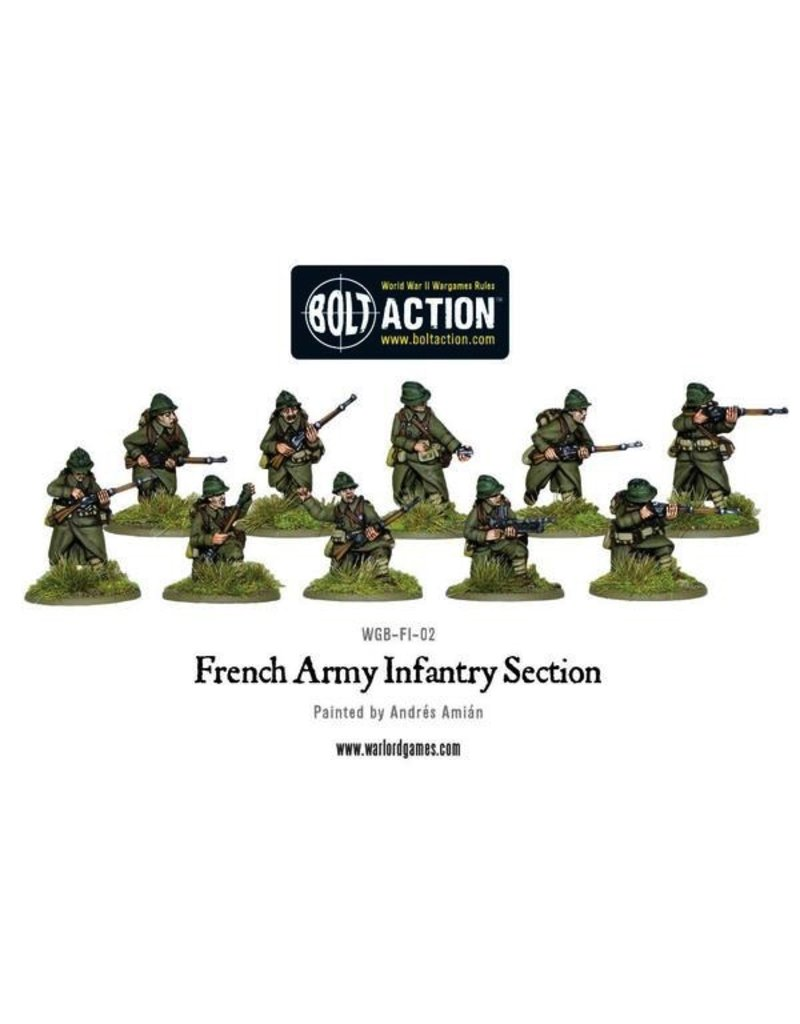 Bolt Action BA French Army: Infantry Section