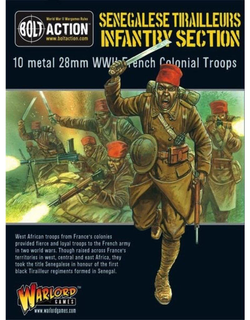 Bolt Action BA French Army: Sengalise Tirailleurs