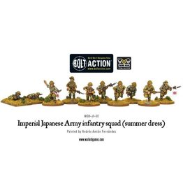 Bolt Action BA Japanese Army: Imperial Army Infantry Squad (Summer Dress)