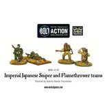 Bolt Action BA Japanese Army: Sniper & Flamethrower Teams