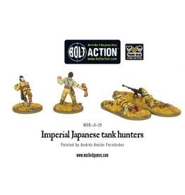 Bolt Action BA Japanese Army: Tank Hunters