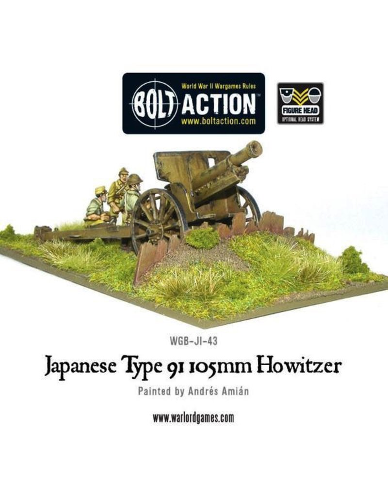 Bolt Action BA Japanese Army: Type 91 105mm Howitzer