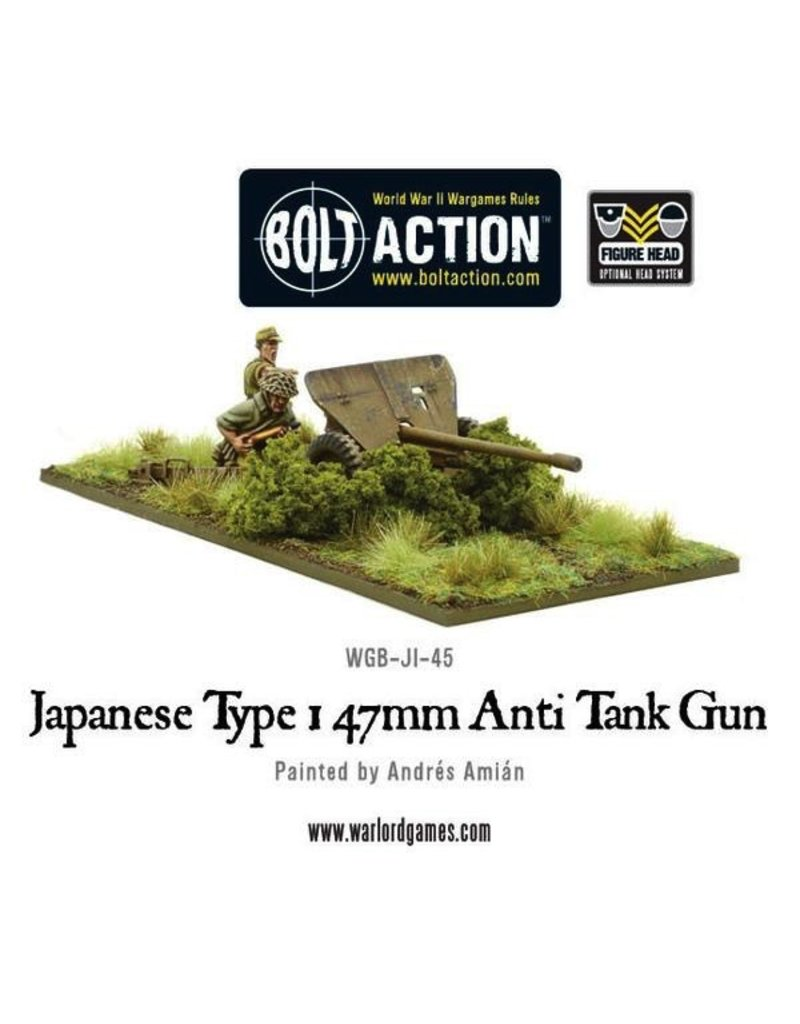 Bolt Action BA Japanese Army: Type 47mm Anti Tank Gun