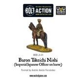 Bolt Action BA Japanese Army: Baron Nishi (Imperial Officer on Horse)