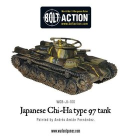 Bolt Action BA Japanese Army: Type 97 Chi-Ha Tank