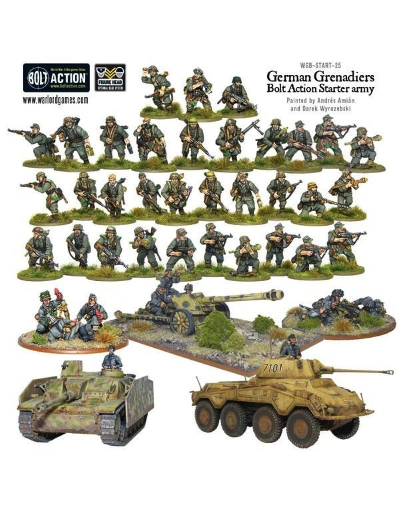 Bolt Action BA Starter Set: German Grenadiers Army