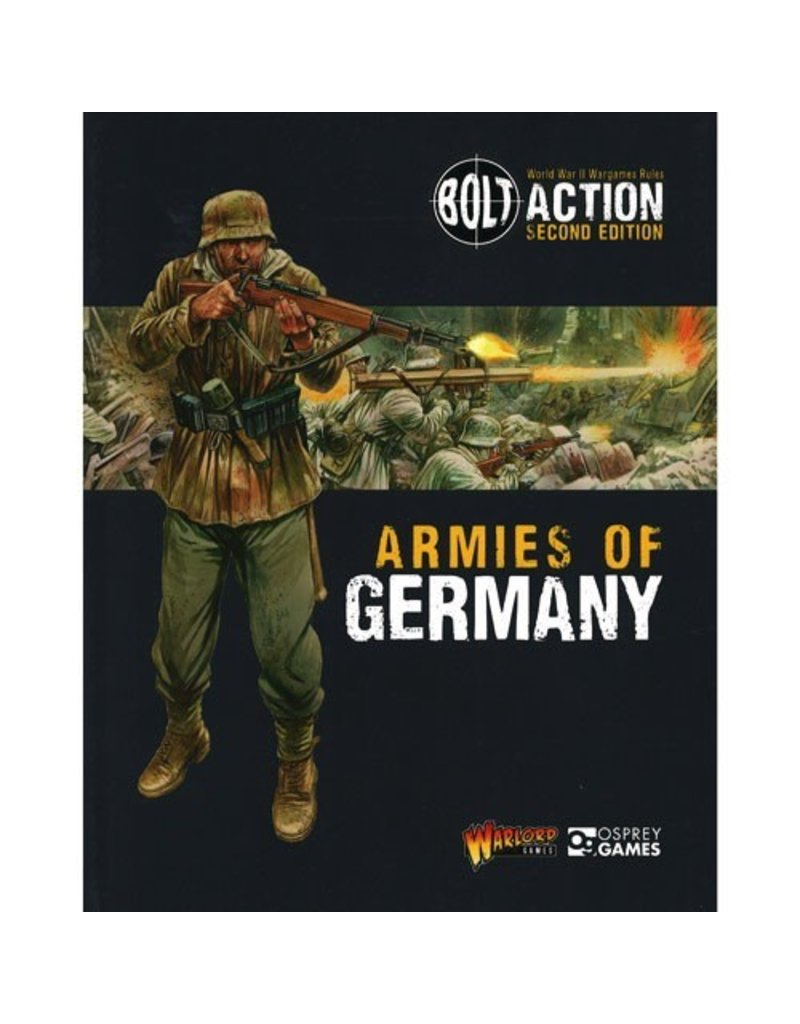 Bolt Action Bolt Action Armies of Germany Rulebook