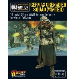 Bolt Action BA German Army: German Grenadiers in Winter Clothing