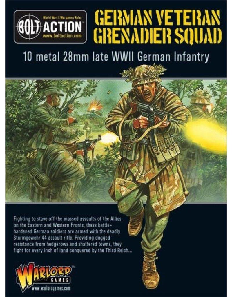 Bolt Action BA German Army: Veteran Grenadiers Squad