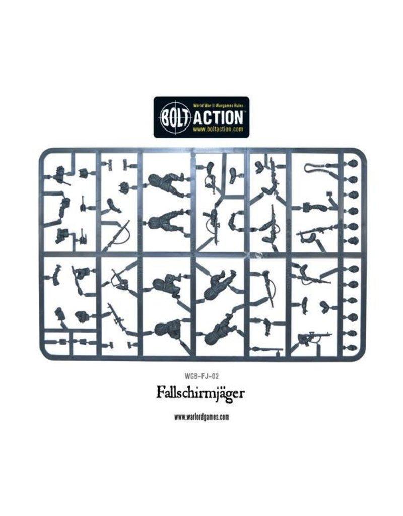 Bolt Action BA German Army: Fallschirmjager (Plastic)