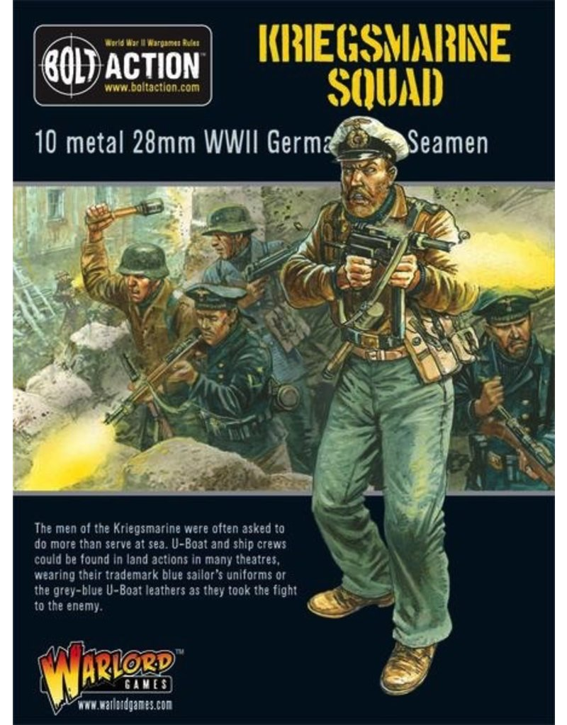 Bolt Action BA German Army: Kriegsmarine Squad