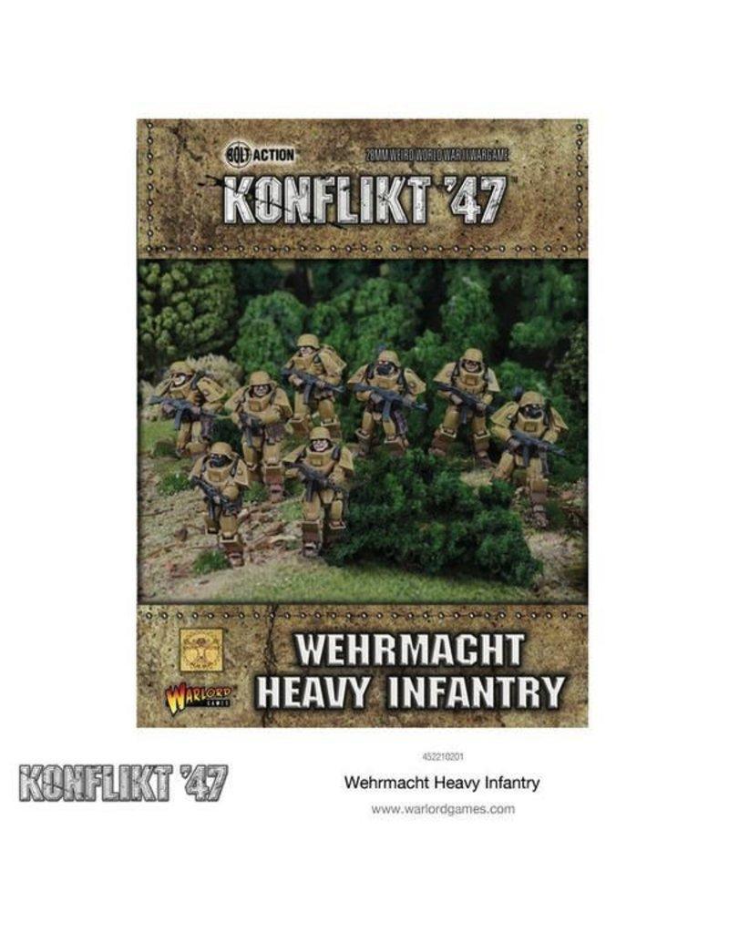 Bolt Action German Heavy Infantry K47