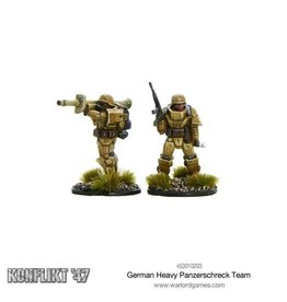 Bolt Action German Heavy Panzerschreck Team