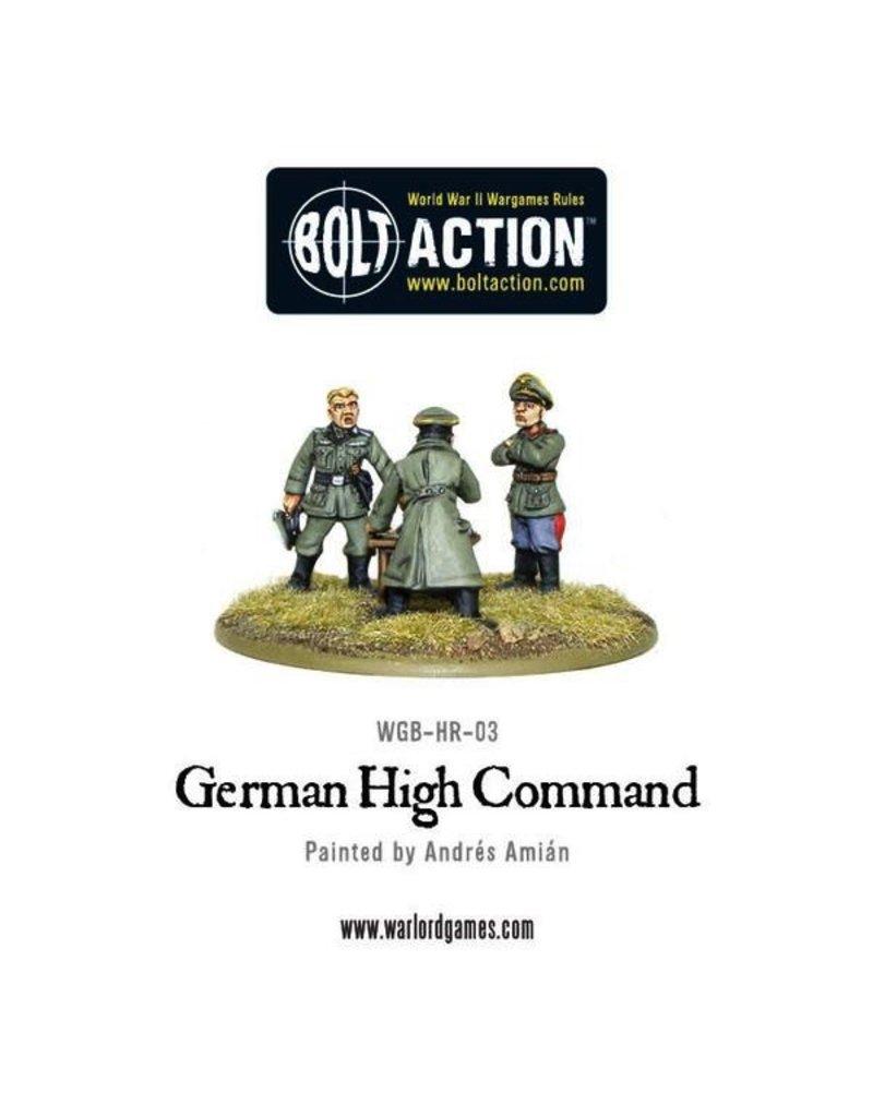 Bolt Action BA German Army: German High Command