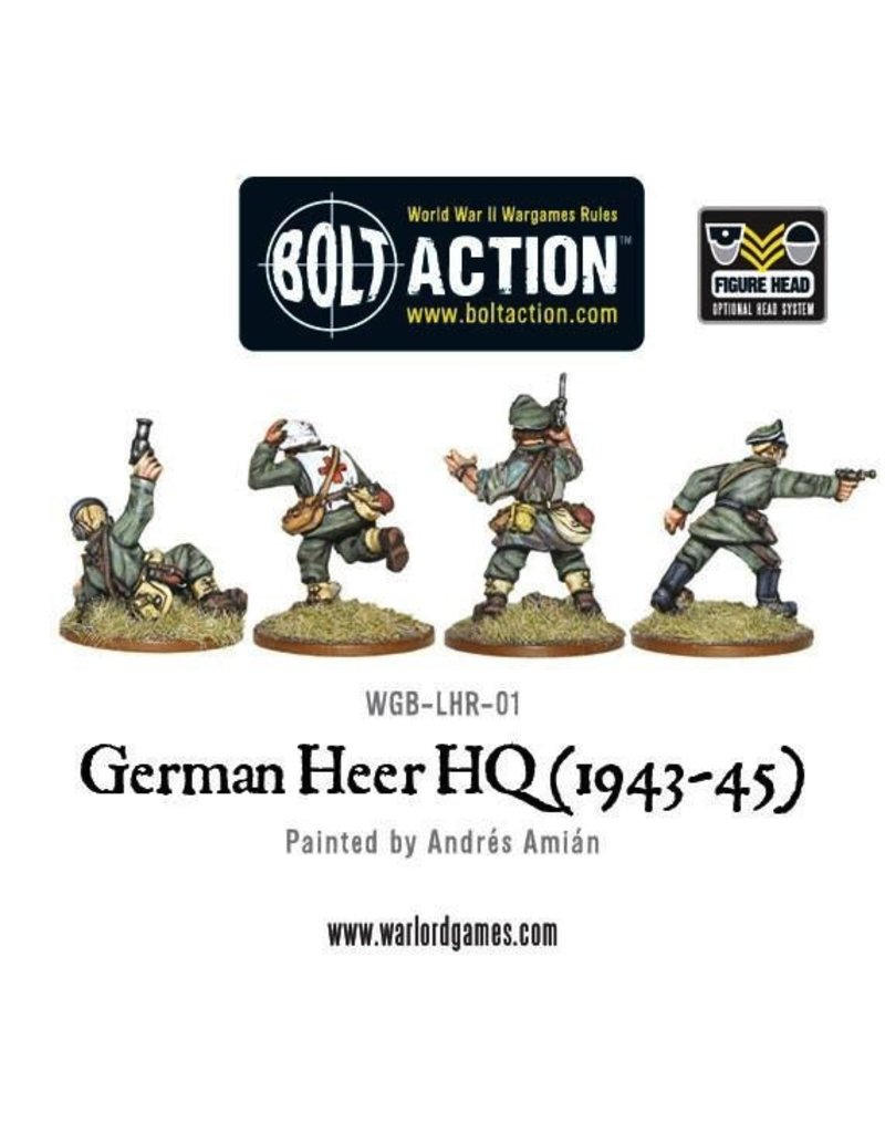 Bolt Action BA German Army: Heer HQ (1943-45)