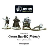 Bolt Action BA German Army: Heer/SS HQ (Winter)