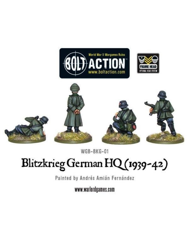 Bolt Action BA German Army: Blitzkrieg HQ (1939-42)
