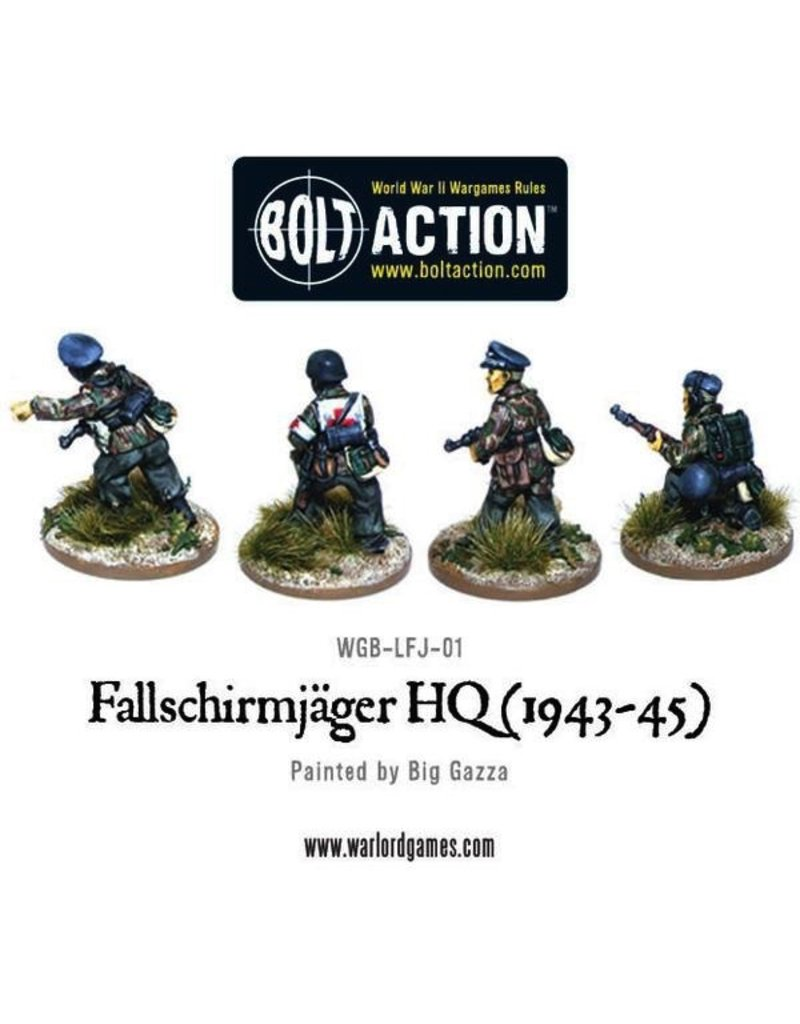 Bolt Action BA German Army: Fallshirmjager HQ (1943-45)