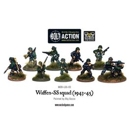 Bolt Action BA German Army: Waffen-SS Squad (1943-45)