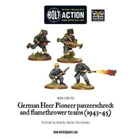 Bolt Action BA German Army: Heer Flamethrower & Panzerschreck (4)