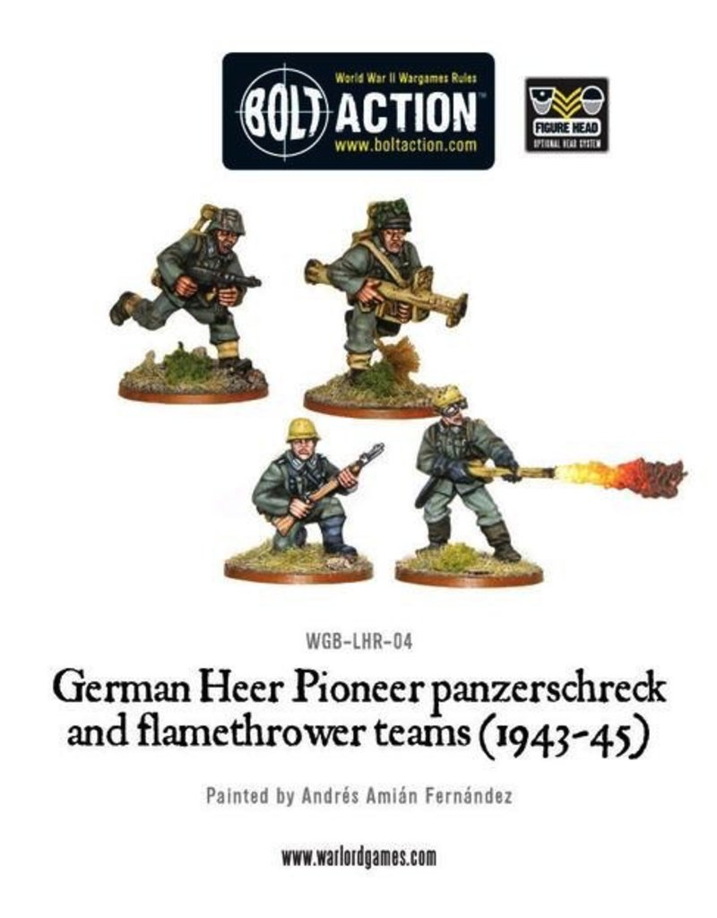 Bolt Action BA German Army: Heer Flamethrower & Panzerschreck (4)
