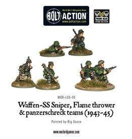 Bolt Action BA German Army: Waffen-SS Sniper, Flamethrower, and Panzerschreck Teams (1943-45)