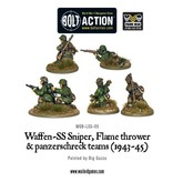Bolt Action BA German Army: Waffen-SS Sniper, Flamethrower, and Panzerschreck Teams (1943-45)
