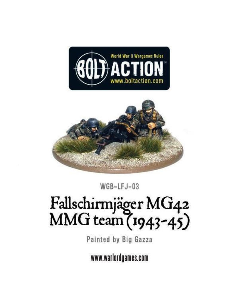 Bolt Action BA German Army: Fallschirmjager MMG (1943-45)