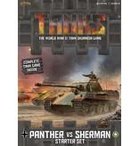 GF9 TANKS TANKS: Starter Set: Panther vs. Sherman