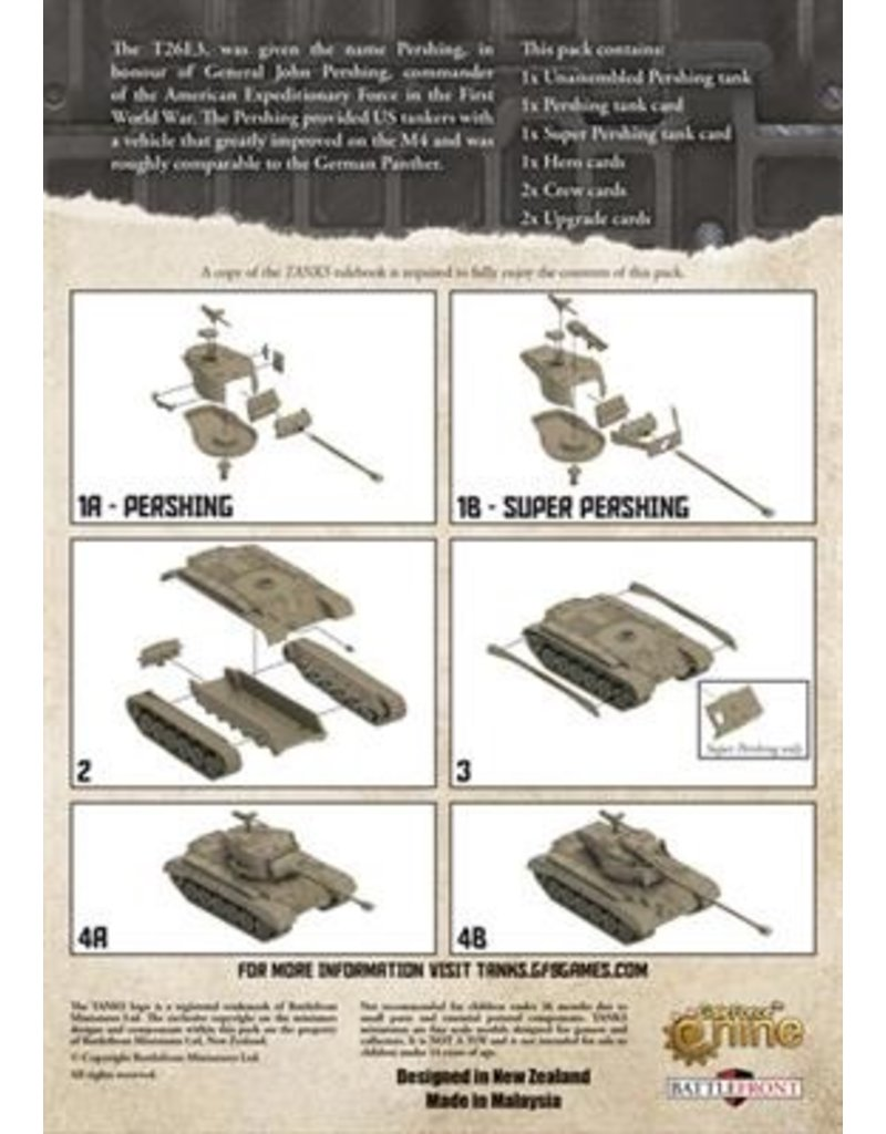 GF9 TANKS TANKS: US Pershing & Super Pershing