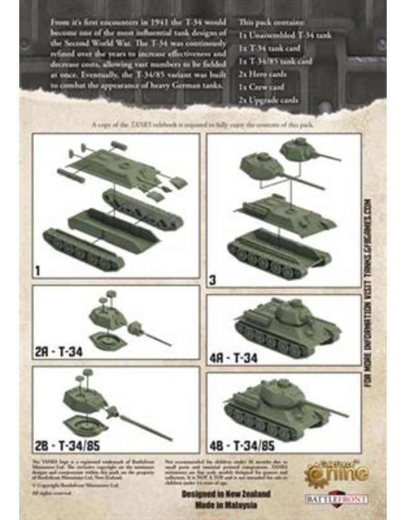 GF9 TANKS TANKS: Soviet T-34