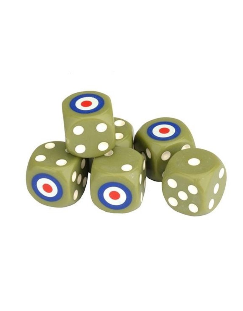 GF9 TANKS TANKS: British Dice Set (6)
