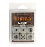 GF9 TANKS TANKS: German Dice Set (6)
