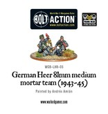 Bolt Action BA German Army: Heer 81mm Medium Mortar