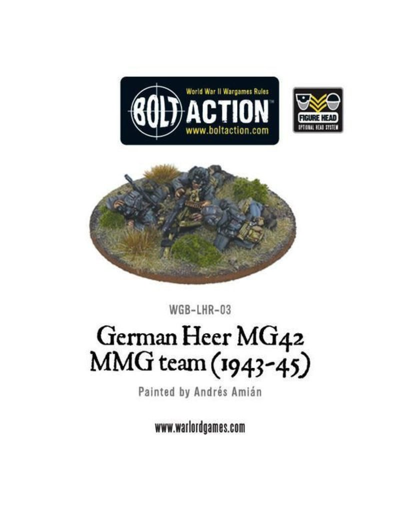 Bolt Action BA German Army: Heer MG42 MMG Team