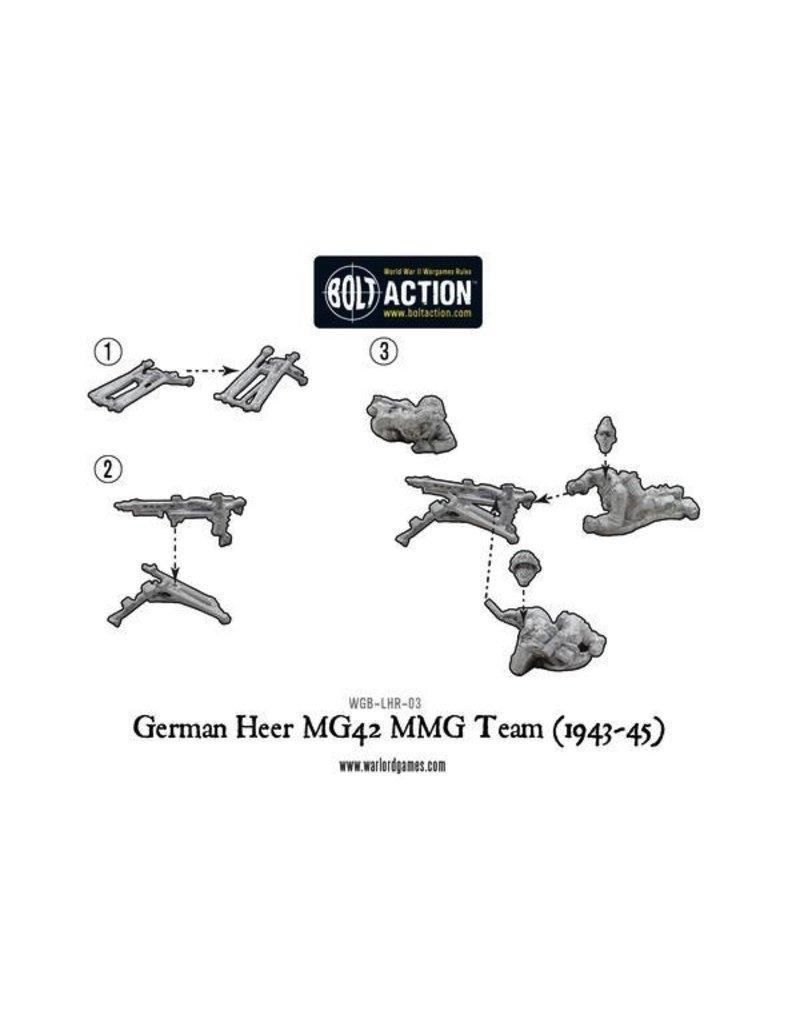 Bolt Action BA German Army: Heer MG42 MMG Team