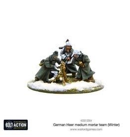 Bolt Action BA German Army: Heer Medium Mortar Team (Winter)