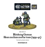 Bolt Action BA German Army: Blitzkrieg 81mm Medium Mortar