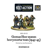 Bolt Action BA German Army: Heer 120mm Heavy Mortar