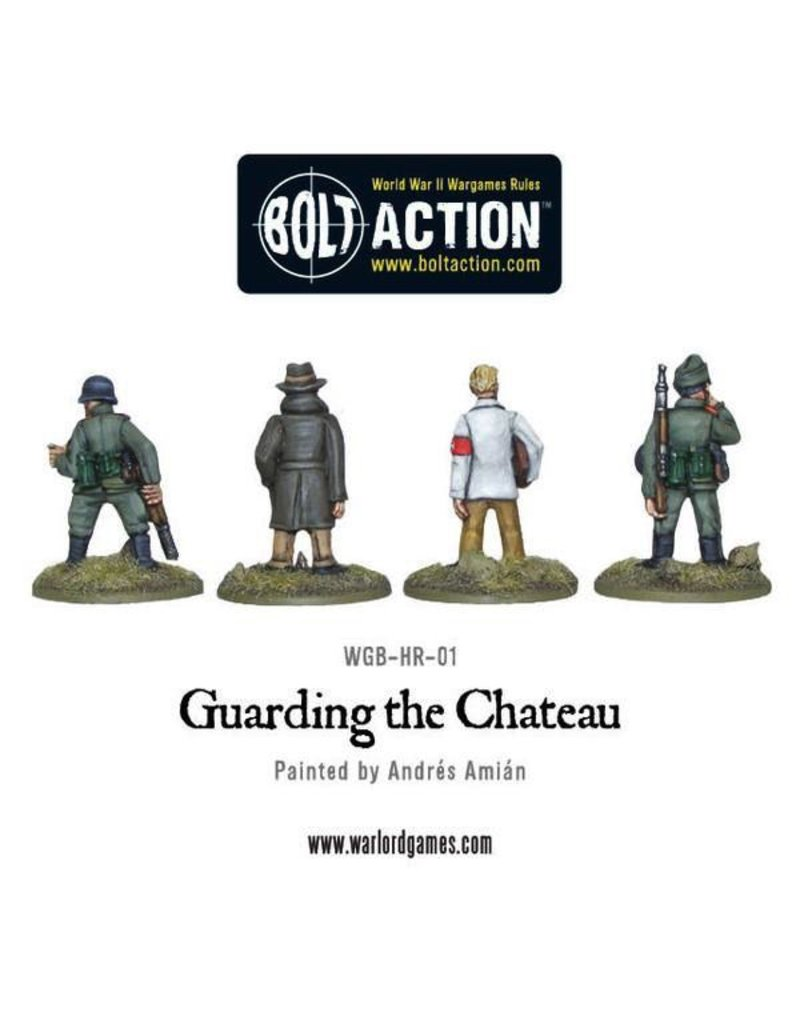 Bolt Action BA German Army: Guarding the Chateau