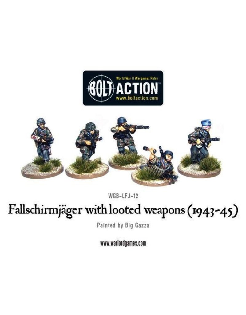 Bolt Action BA German Army: Fallschirmjager with Looted Weapons