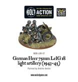 Bolt Action BA German Army: Heer 75mm LEiG 18 Artillery